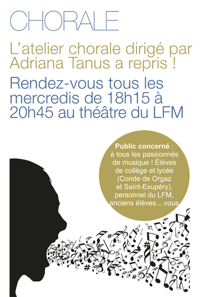 Affiche chorale