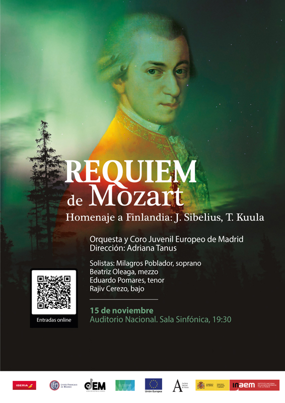 OJEM Requiem mozart 15nov
